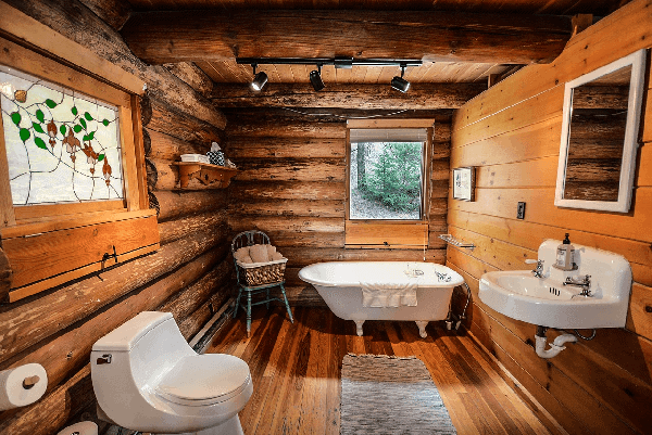 Can You Put Hardwood Floors In A Bathroom Yes With These Tips